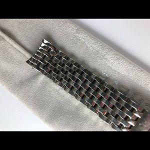 Authentic Michele CSX Steel watch band 18 mm